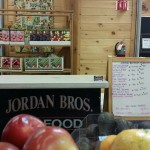 Jordan Brothers at Farm Stand